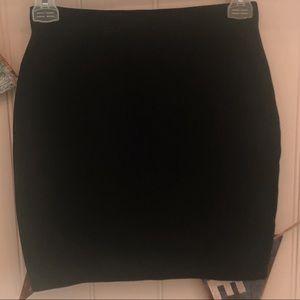 Abercrombie & Fitch Black Body Con Mini Skirt XS